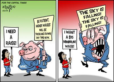 Konopacki minimum wage