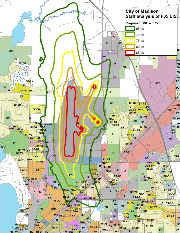 Maps for Madison staff analysis