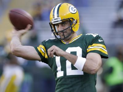 96aa4a553 Packers  MVP x 3  Aaron Rodgers could join exclusive club with ...