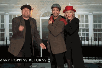 Emily Blunt, Lin-Manuel Miranda And James Corden Performed A Must-watch 22 Musicals In 12 Minutes