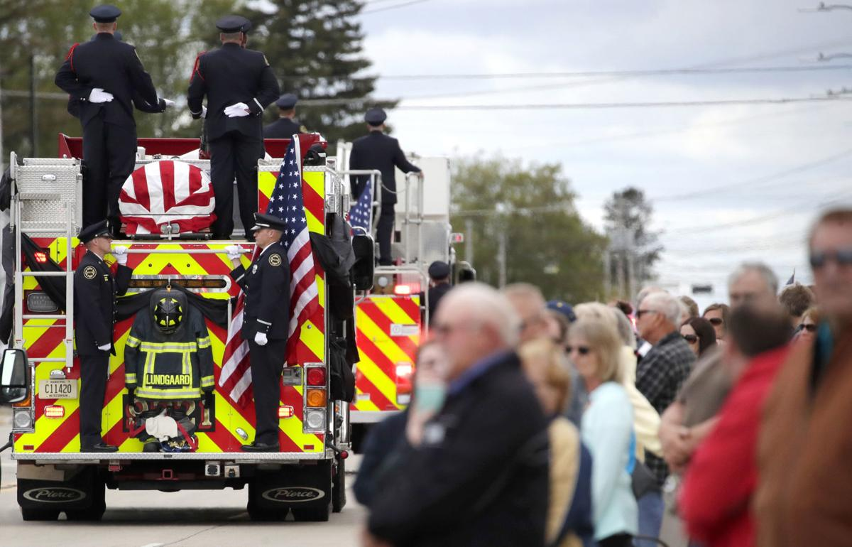 Wisconsin Shooting-Firefighter Killed