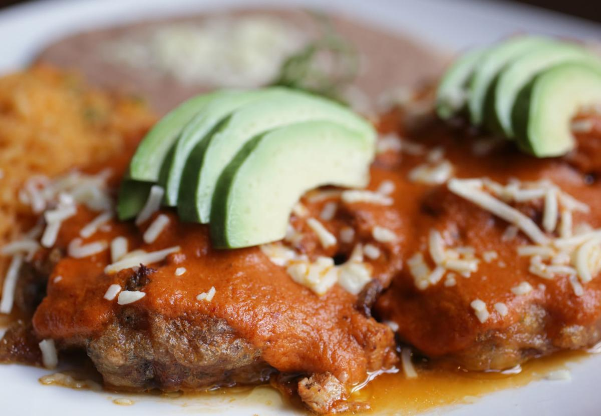 Agave chile rellenos