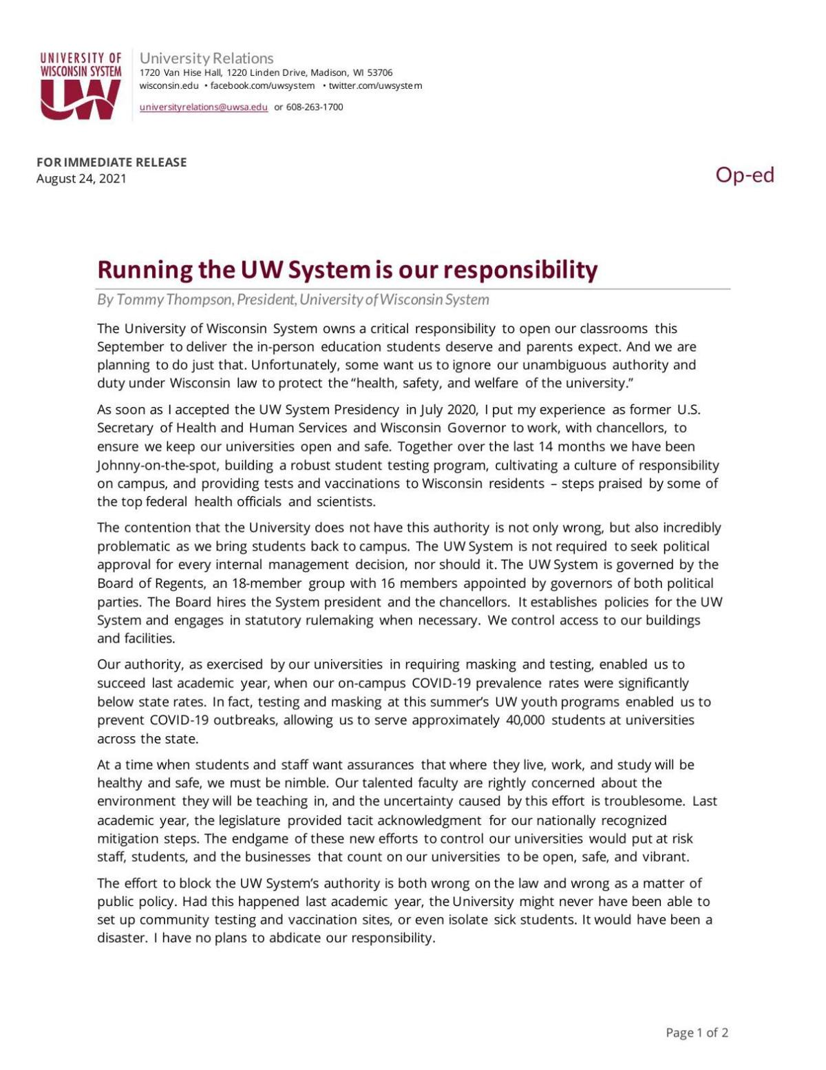 OP-ED - Running the UW System is our responsibility.pdf