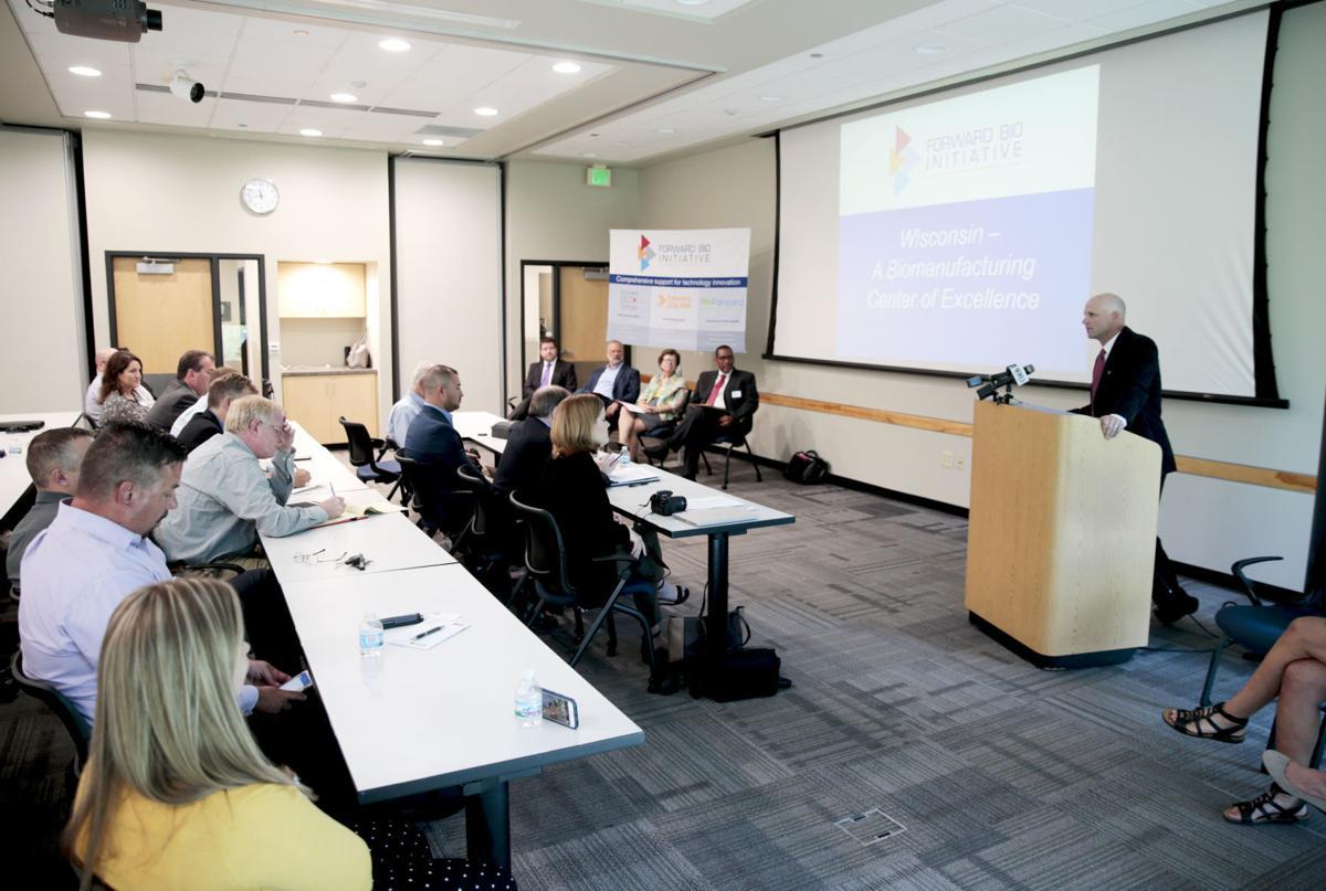 Biomanufacturing launch event