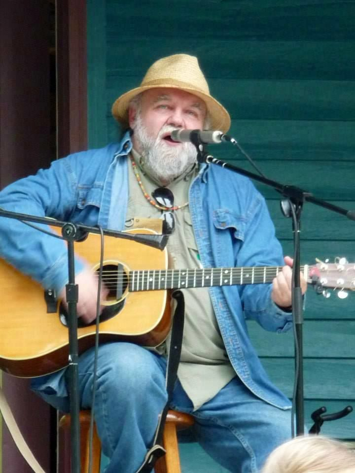 Don Greenwood entertains at the General Store, Feb. 22, 2020