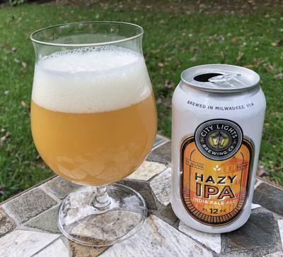 City Lights Brewing's Hazy IPA