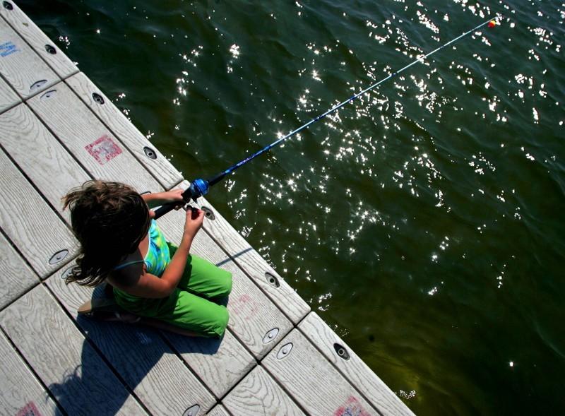 Lake Wingra fishing