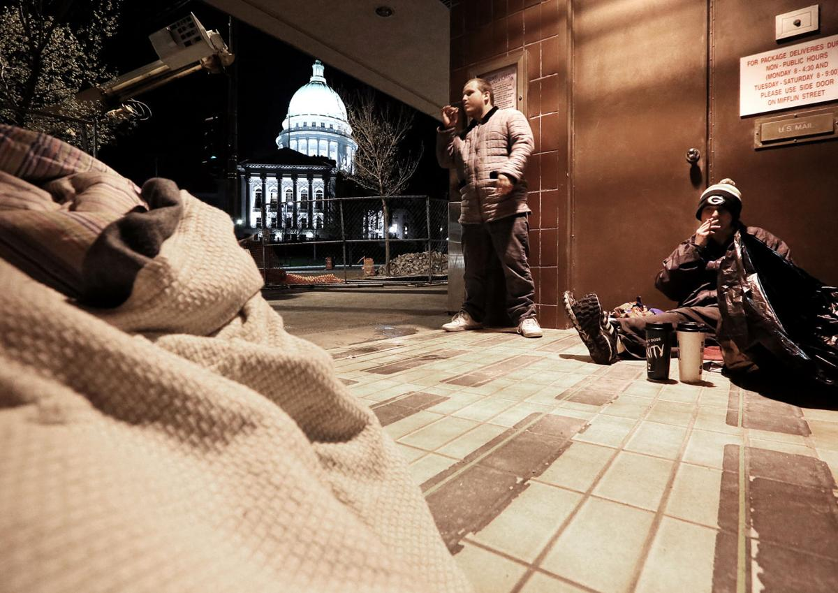 State Capitol homeless