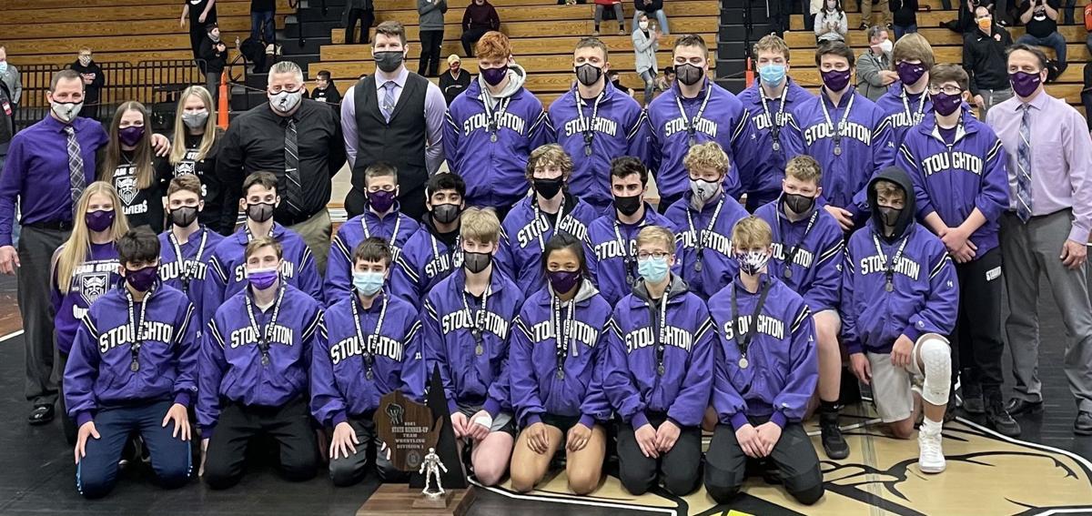 Prep wrestling photo: The 2020-2021 Stoughton wrestling team