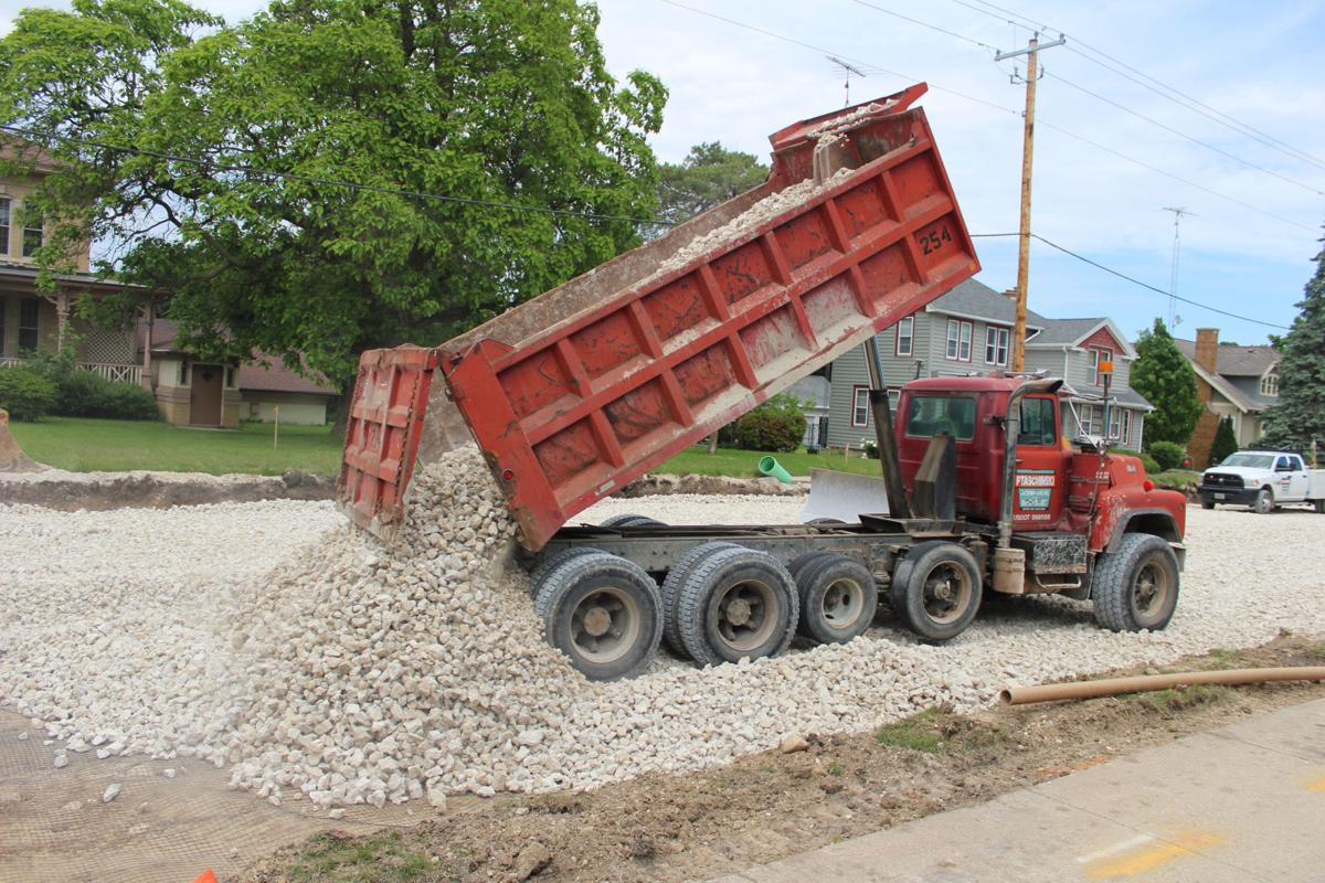 Access to businesses a priority in construction project in Mayville (copy) (copy) (copy)