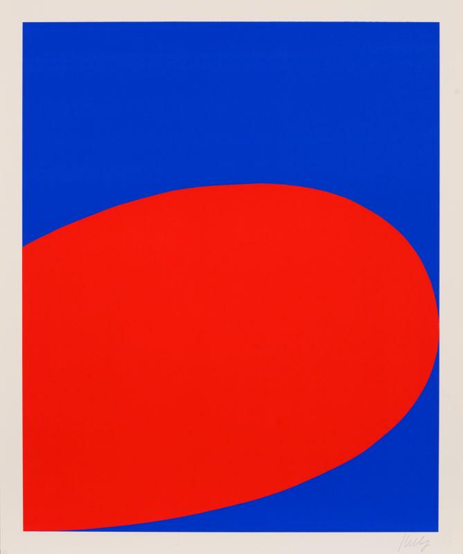 Ellsworth Kelly, Red Blue (1964)
