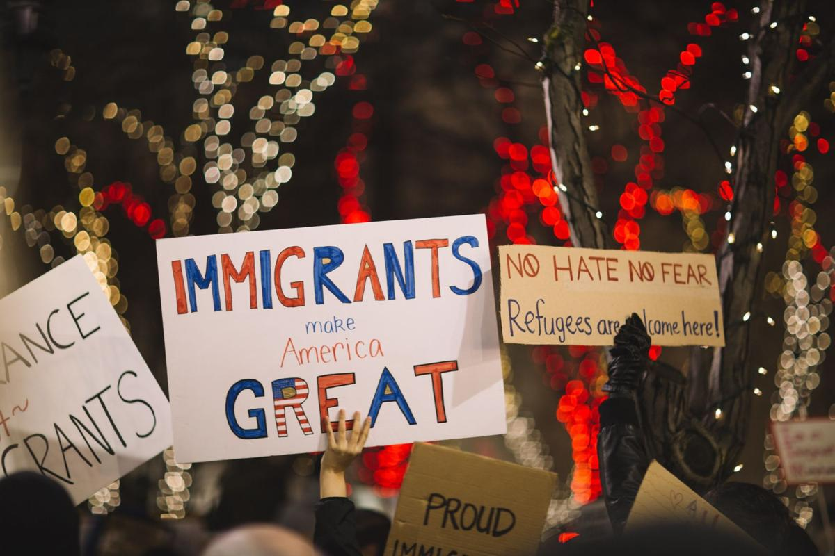 IMMIGRATION PROTEST SIGNS