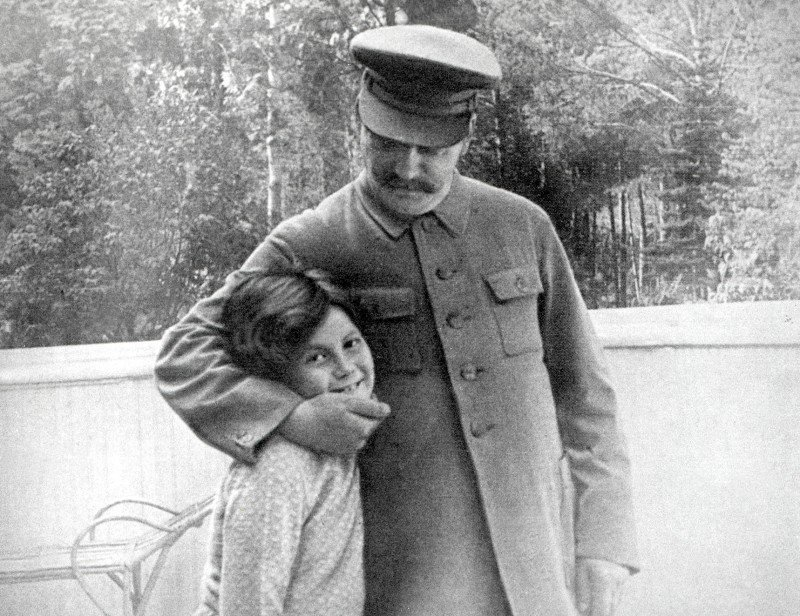 Josef Stalin And Svetlana Alliluyeva