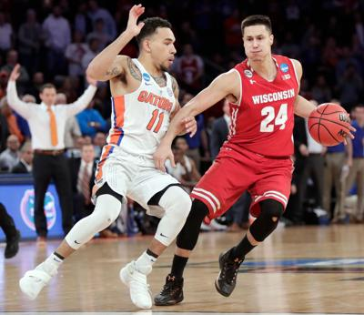 Bronson Koenig Sweet 16 loss, State Journal photo