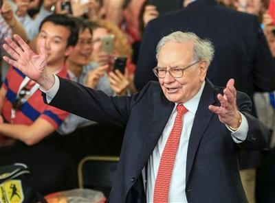 Warren Buffett, Kraft Heinz, AP photo (CMS only)