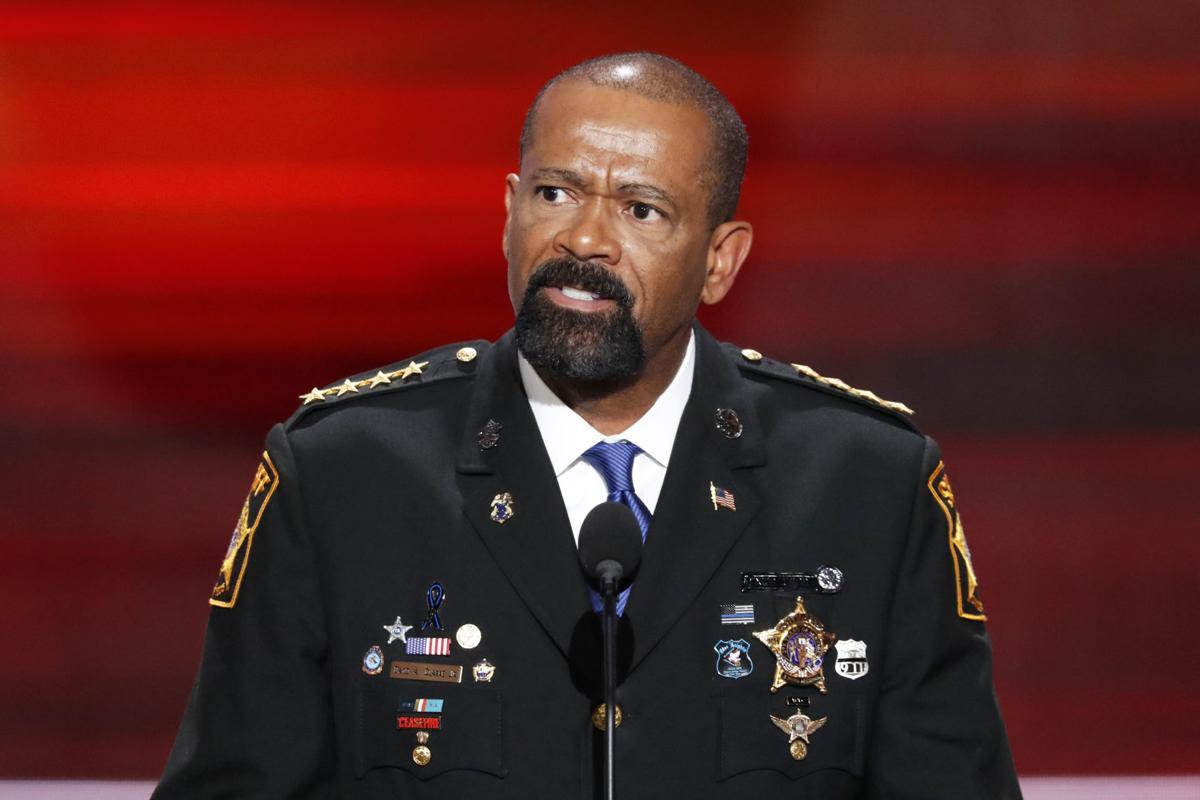 Ex-Milwaukee County Sheriff David Clarke, AP generic file photo