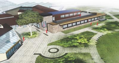Olbrich Botanical Gardens rendering