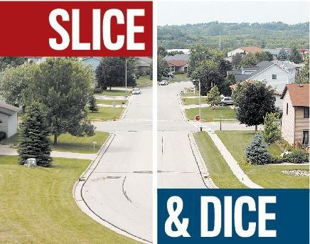 deforest street slice and dice graphic