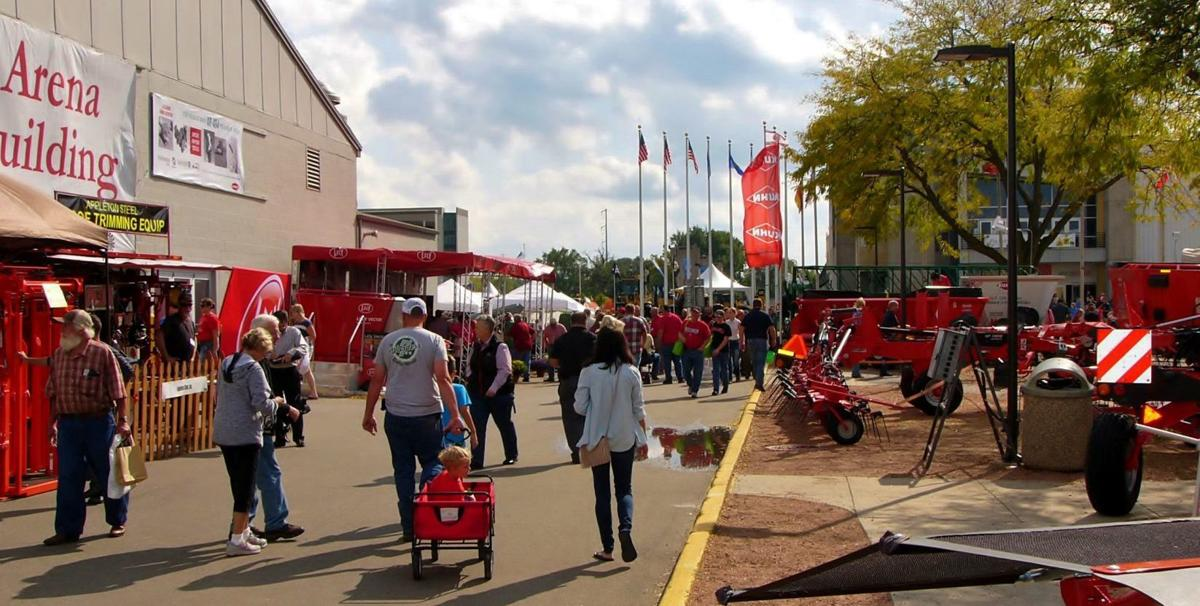 Foot traffic brisk at Dairy Expo