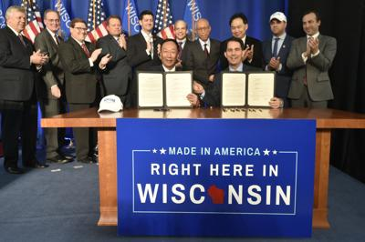Foxconn selects company with closes ties to Scott Walker