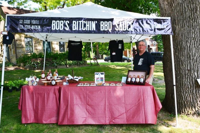 Bob's Bitchin' BBQ, Bob Page