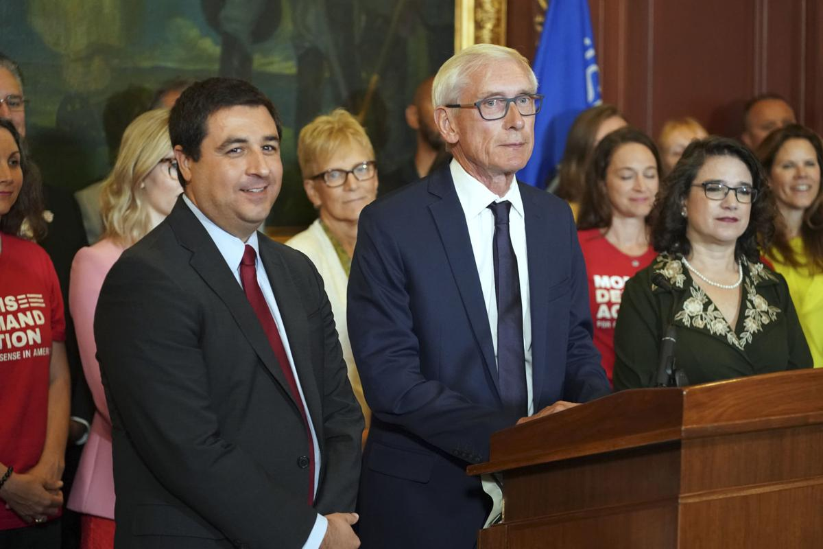 Tony Evers unveils red flag bill