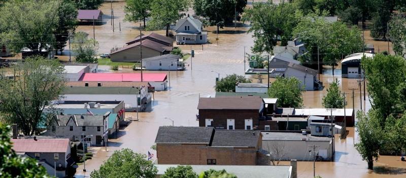 Gays mills flood