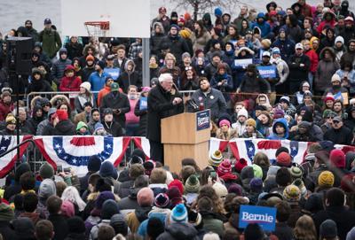 Bernie Sanders in Madison