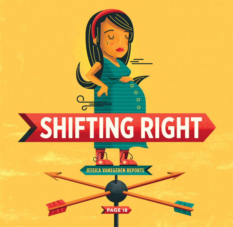 shifting right - abortion