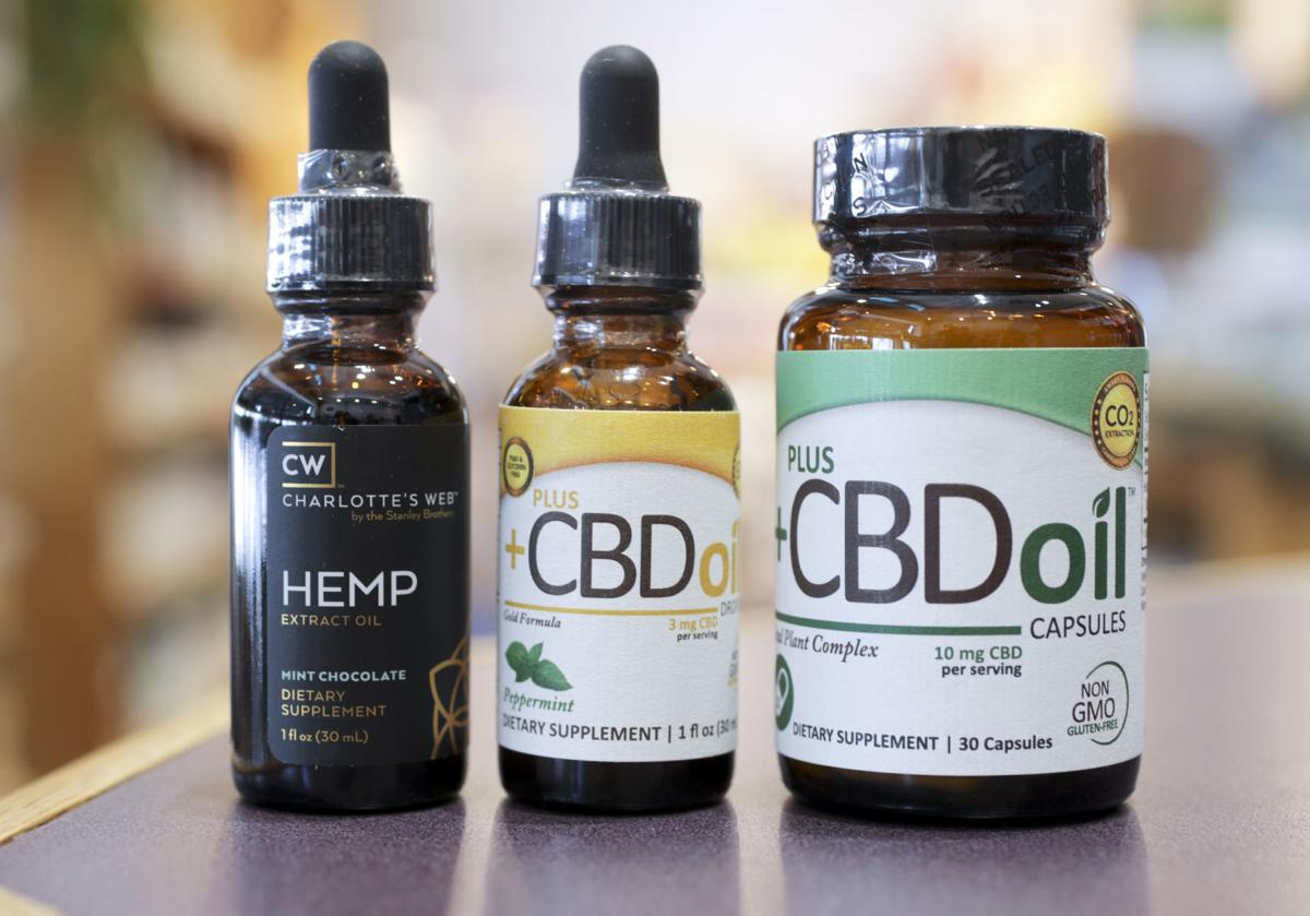 CBD could be used as a way to consider a session to opioids.