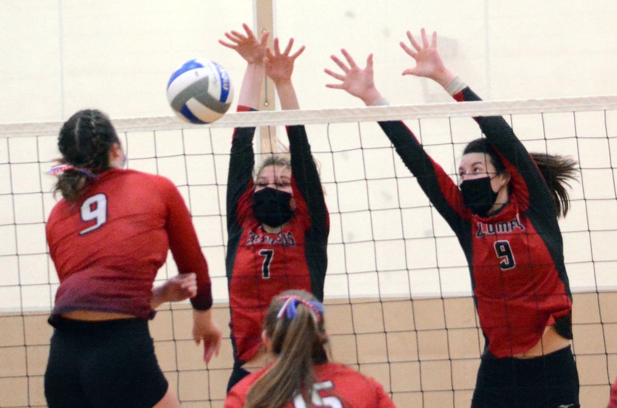 WIAA girls volleyball photo: Columbus' Peyton Priem