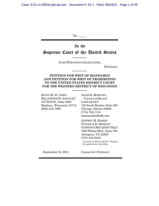 Petition for Writ of Mandamus