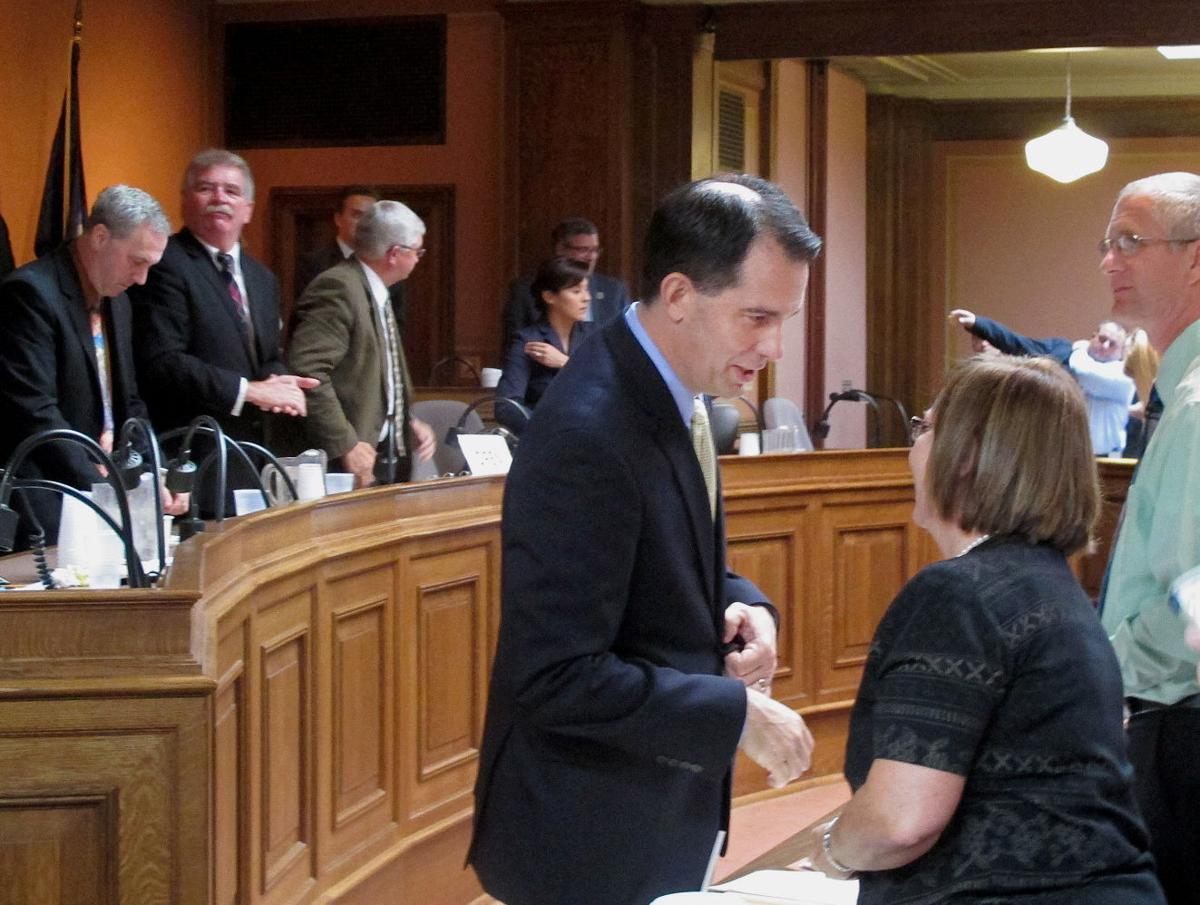 Gov Scott Walker Proposes Changes For Civil Service System Copy