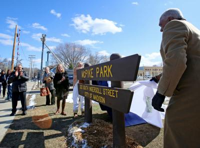 McPike Park dedication