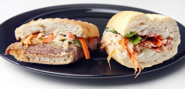 Banh mi sandwiches from Mermaid Cafe and Viet Hoa