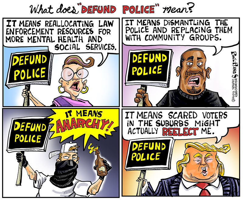 "Hands on Wisconsin: What does ""Defund Police"" mean? It's complicated 