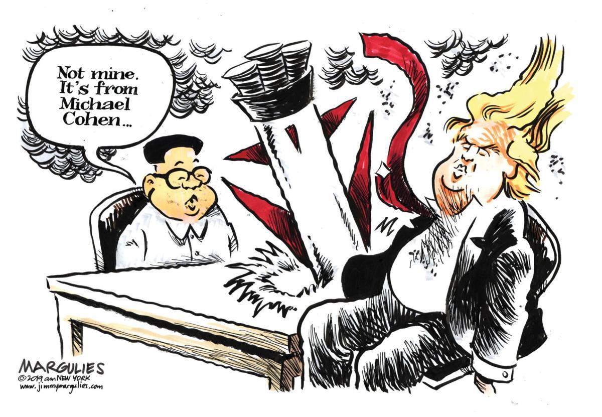 Editorial cartoon (3/3/2019)