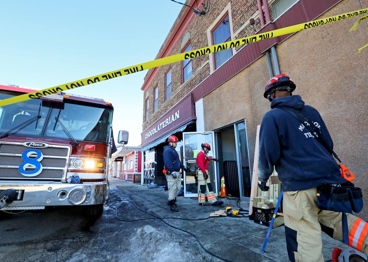 Chocolaterian fire investigation
