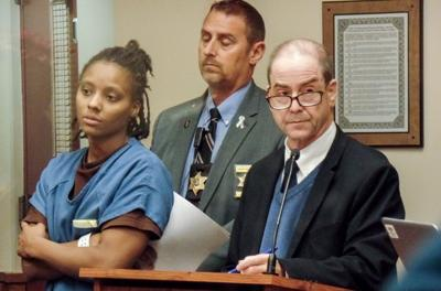 Kenyairra Gadson in court