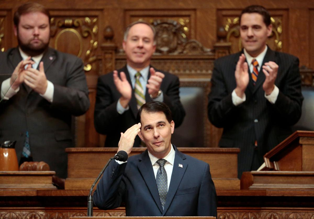 """Scott Walker says Republicans are """"working and winning for Wisconsin"""""""