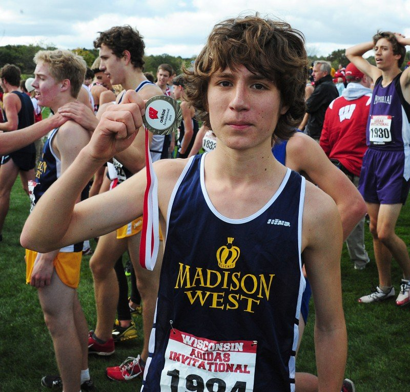 839938ea3a3a0 WIAA cross country  Madison West s Hacker isn t running away from family  legacy
