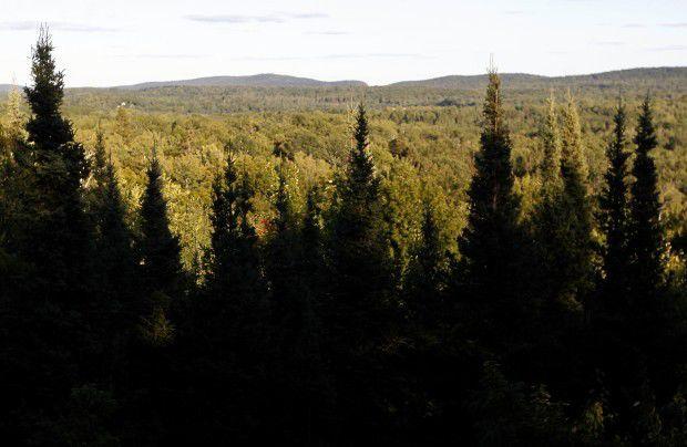 Penokee Hills iron mine file photo