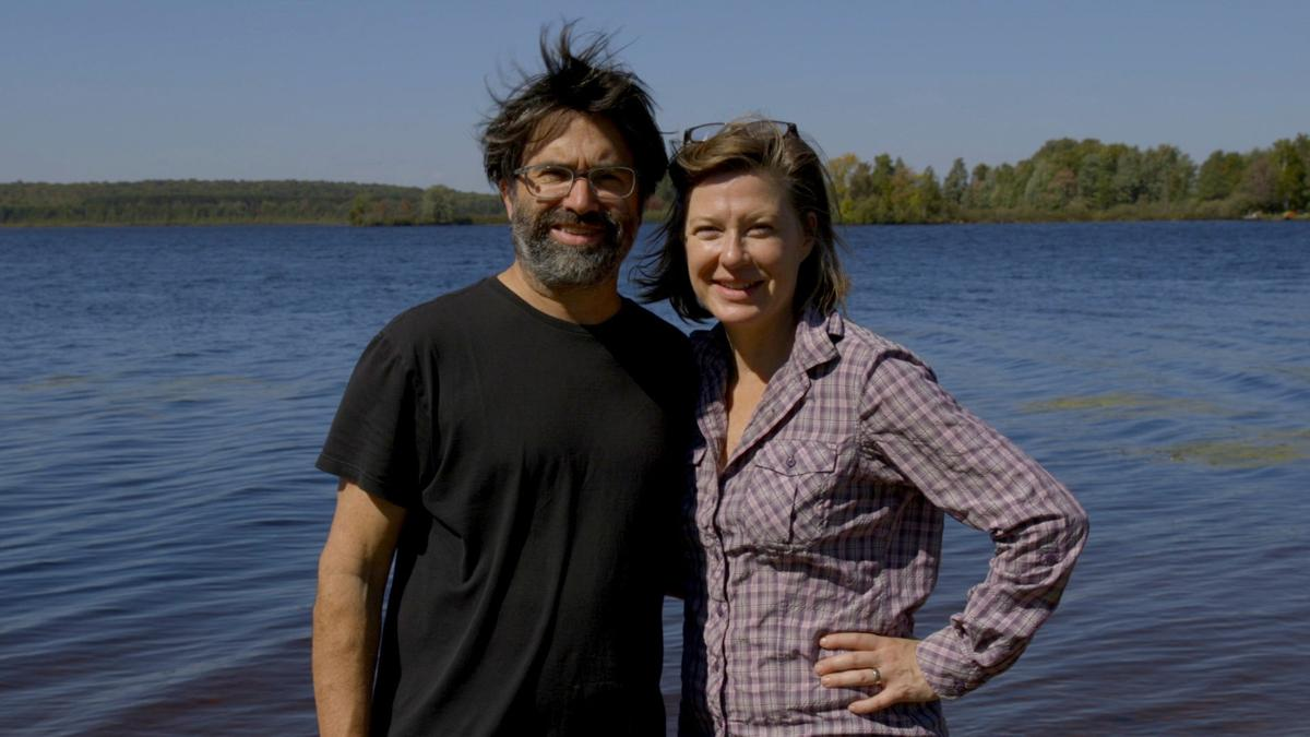 Jim Cricchi and Susan Peters