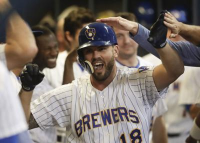 best cheap f4720 3fb47 Mike Moustakas returning to Brewers on one-year deal | Major ...