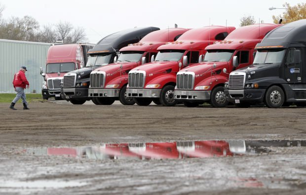 Trucks are ready to roll at BCP Transportation