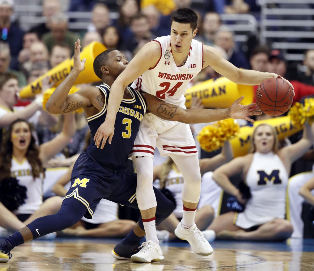 B10 Michigan Wisconsin Basketball