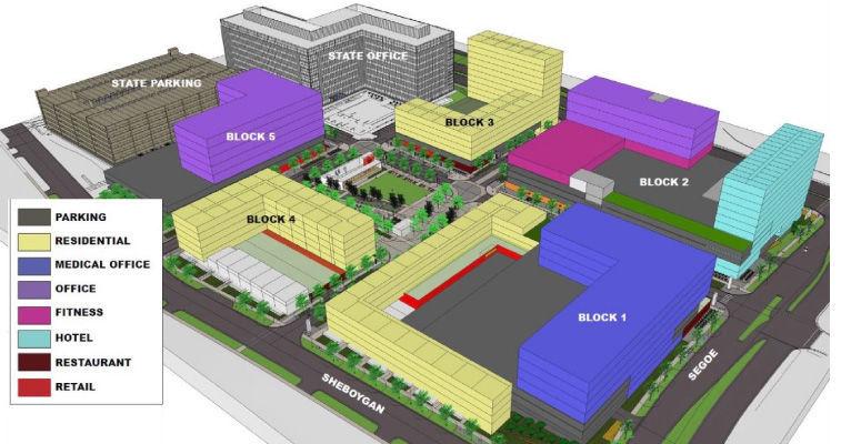 Madison Yards layout