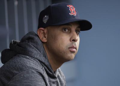 Red Sox Cora Fired Baseball