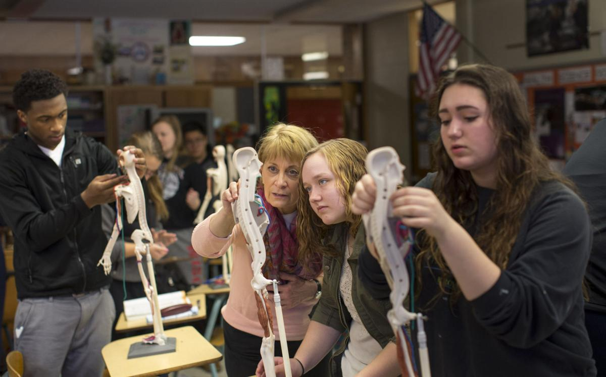 School Spotlight: Anatomy class comes alive as students mold clay ...