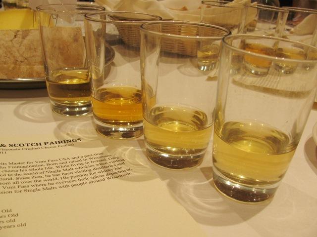 Cheese and Scotch pairing -- Scotch